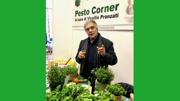 Immagine basilico Genovese DOP al Pesto Corner con Virgilio Pronzati
