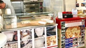 Immagine stand Focaccia di Recco I.G.P. col formaggio al Salone dell'Agroalimentare Ligure 2019