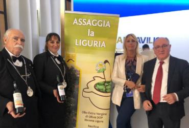 Degustazione organizzata da Assaggia la Liguria all'evento organizzato da GLFC in occasione del Festival del Cinema di Cannes
