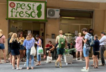 Pesto Fresco racconta i segreti del Pesto Genovese agli studenti dell'Accademia di cucina di Suhrs